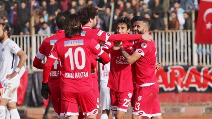 Boluspor, Van Büyükşehir Belediyespor ile deplasmanda berabere kaldı