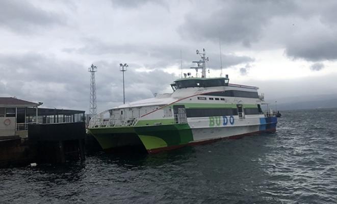 BUDO 19 Aralık'ta iptal edilen seferleri duyurdu