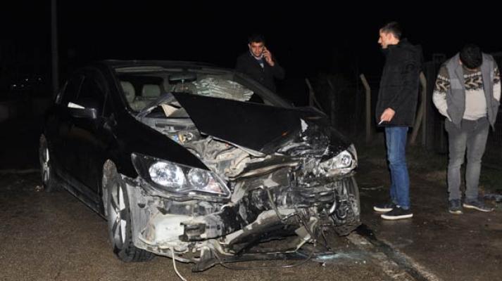 Bursa İnegöl'de meydana gelen kazada 2'si çocuk 6 kişi yaralandı