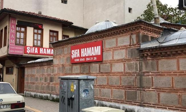 Bursa Tarihi Şifa Hamamı'nın işletmecisi baba ve oğlu gözaltına alındı