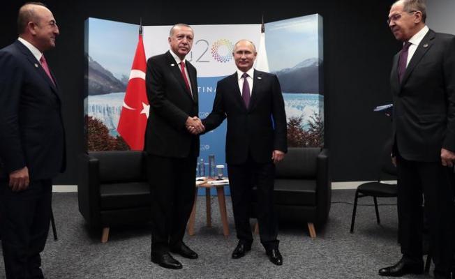 Cumhurbaşkanı Erdoğan ile Rusya Devlet Başkanı Putin Görüşmesi Sonrası İlk Açıklama!
