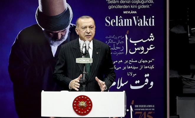 Cumhurbaşkanı Erdoğan'ın Konya'da açılış töreninde ki konuşması
