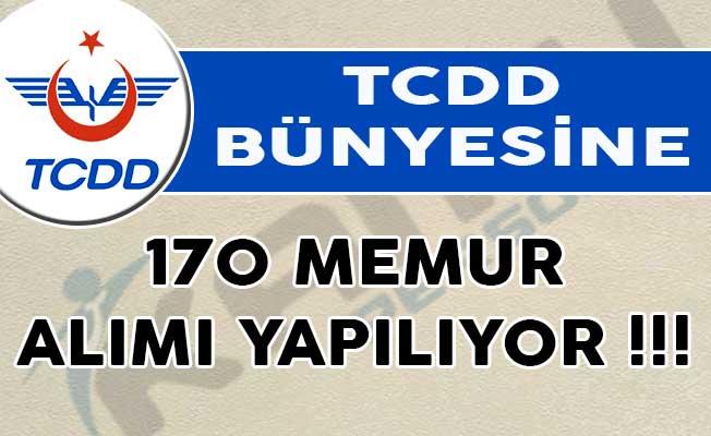 TCDD 170 memur alımı yapıyor! Devlet demiryolları 170 memur alım ilanı