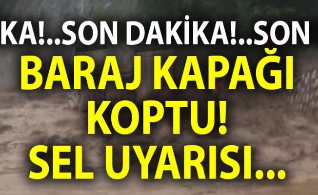 Diyarbakır'de sel uyarısı! Yağış nedeniyle Eğil'de Kral Kızı Barajı'nın kapağı koptu