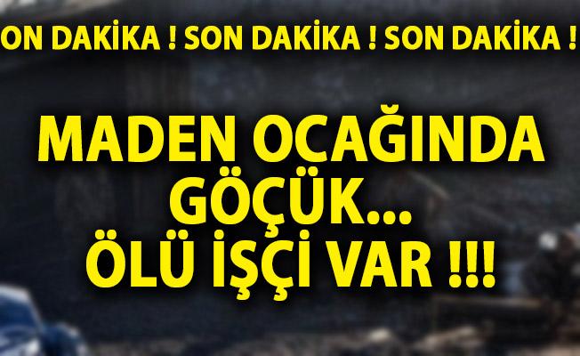 Edirne'de Maden Ocağı Çöktü! Ölü İşçi Var