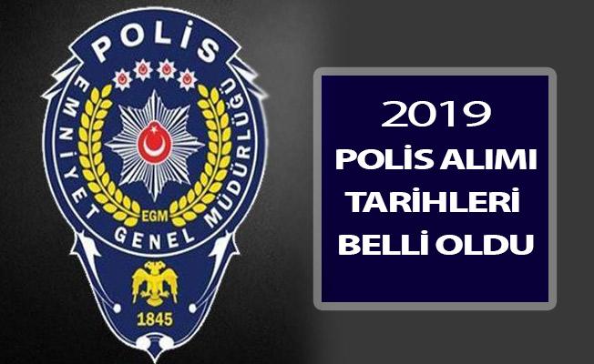 Emniyet Genel Müdürlüğü (EGM) 2019 Polis Alımı Tarihi Belli Oldu (PMYO - POMEM - PÖH)
