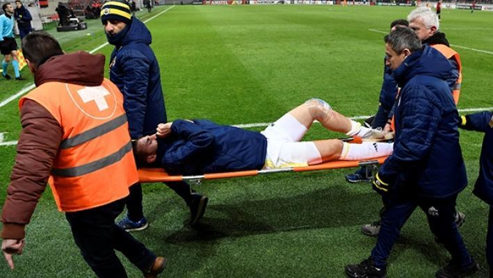 Fenerbahçe'nin Spartak Trnava maçında sakatlanan Yiğithan'dan kötü haber