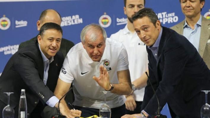 Fenerbahçe yeni sponsoruyla sözleşme imzaladı