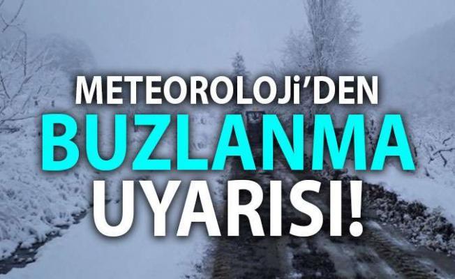 Hava durumuna dikkat! Meteoroloji'den sis ve buzlanma uyarısı