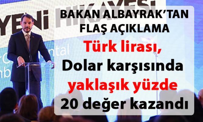 Hazine ve Maliye Bakanı Berat Albayrak, TÜYİD yatırımcı ilişkileri zirvesinde konuştu