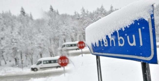 İstanbul'a kar ne zaman yağacak- Meteroroloji'den kar uyarısı
