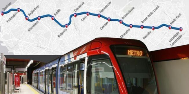 İstanbul'da Metro Seferleri Uzatıldı !