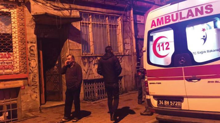 İstanbul Fatih'te yabancı uyruklu iki kişi ölü bulundu