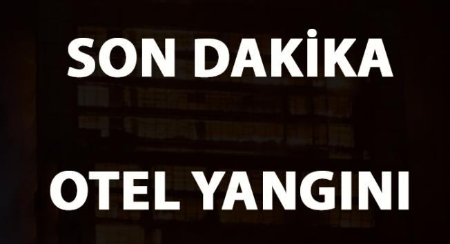 İSTANBUL Karaköy'de son dakika otel yangını