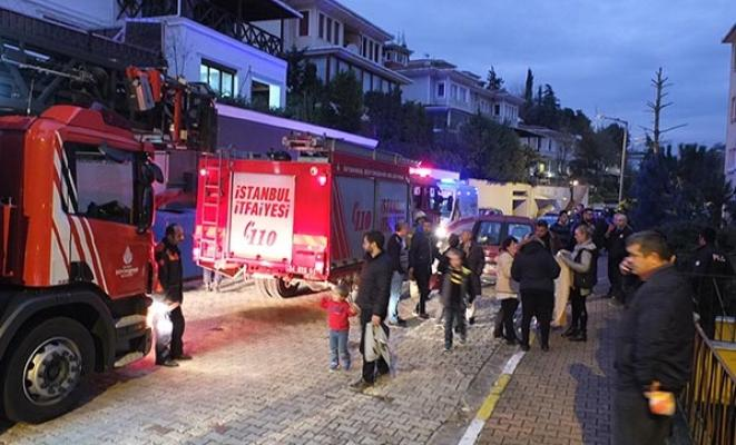 İstanbul Üsküdar'da yangın alarmı