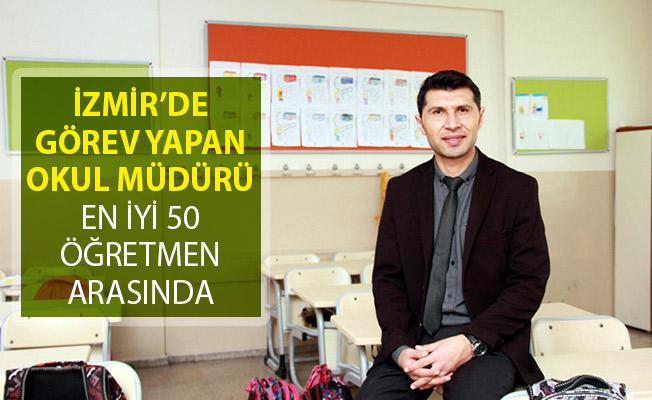 İzmir'in Gaziemir Anafartalar İlkokulu'nun Müdürü En İyi 50 Öğretmen Arasında