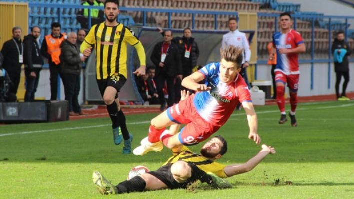 Kardemir Karabükspor sahasında İstanbulspor ile 1-1 berabere kaldı