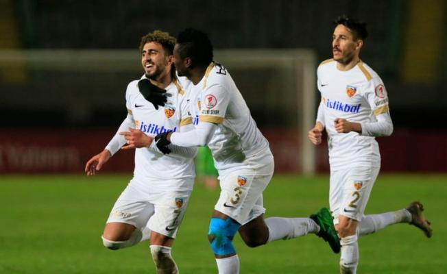 Kayserispor Altaysporu 2-1 mağlup etti