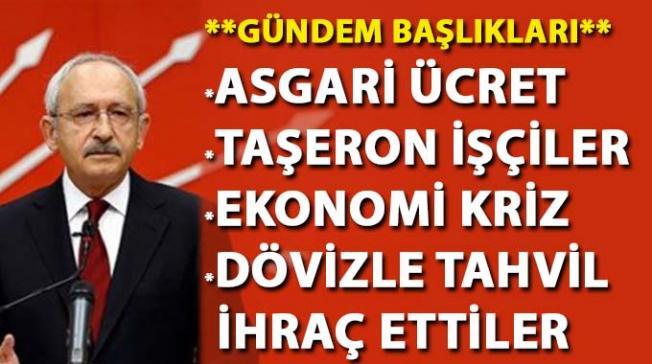 Kılıçdaroğlu, ''AKP dövizle tahvil ihraç etti'' dedi