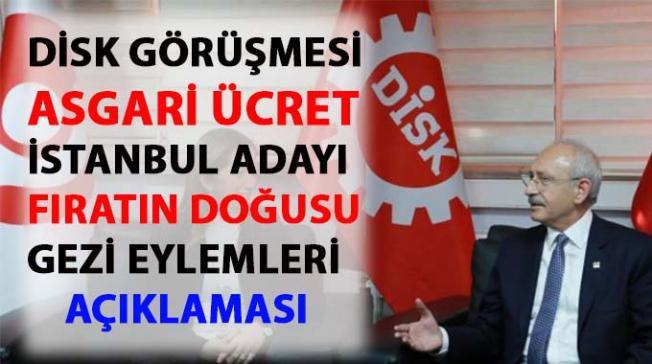 Kılıçdaroğlu, Gezi eylemleri hakkında konuştu