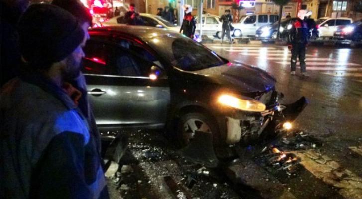 Kilis'te trafik kazası- 5 Yaralı