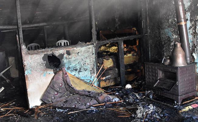 Konya'da Yangın! 4 Çocuk Korkunç Şekilde Can Verdi!