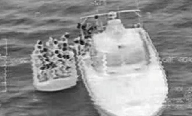 Kuşadası'nda 44 kaçak göçmen yakalandı