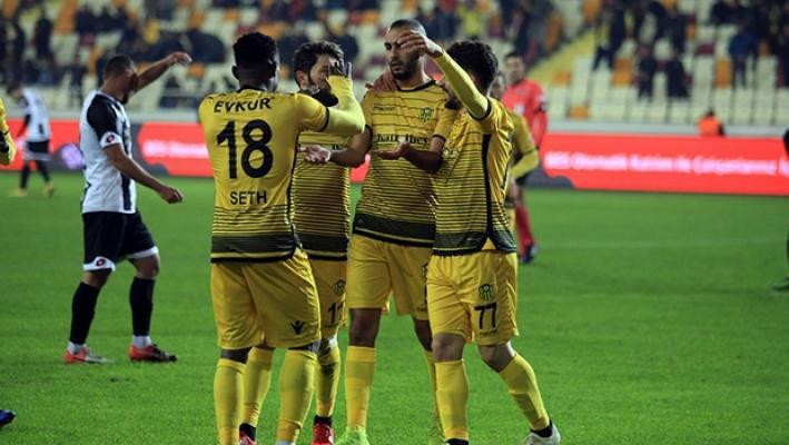 Malatyaspor Etimesgut Belediyespor'u 2-0 mağlup etti