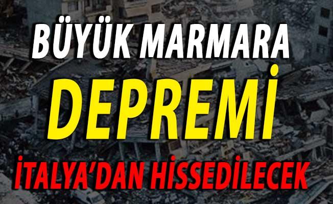 Marmara İçin Büyük Deprem Bekleniyor ! Marmara Depremi İtalya'dan Hissedilecek