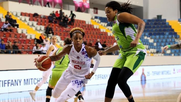Mersin Büyükşehir Belediyespor, sahasında Romanya temsilcisi ACS Sepsi'yi 71-61 yendi