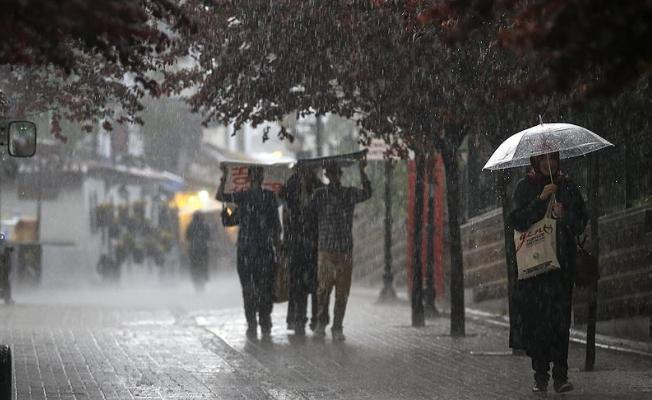 Meteoroloji'den İstanbul Yalova ve Kocaeli İlleri İçin Çok Kuvvetli Yağış Uyarısı !