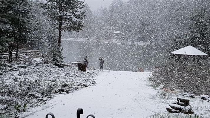 Meteoroloji'den Kuvvetli Kar Yağışı Uyarısı Geldi