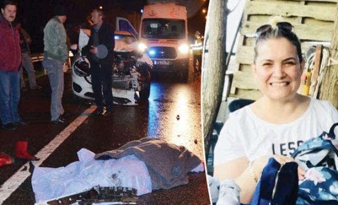 Ordu Fatsa'da otomobilin çaptığı kadın feci şekilde can verdi