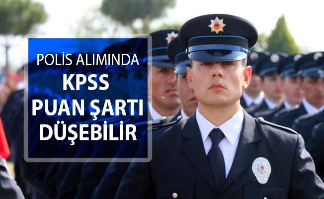 Polis Alımı İçin KPSS Puanı Düşebilir !