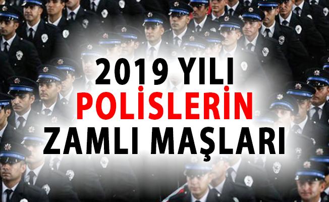 Polis Maaşları 2019'da Ne Kadar Olacak?- 2019 polis memuru zamlı maaşları