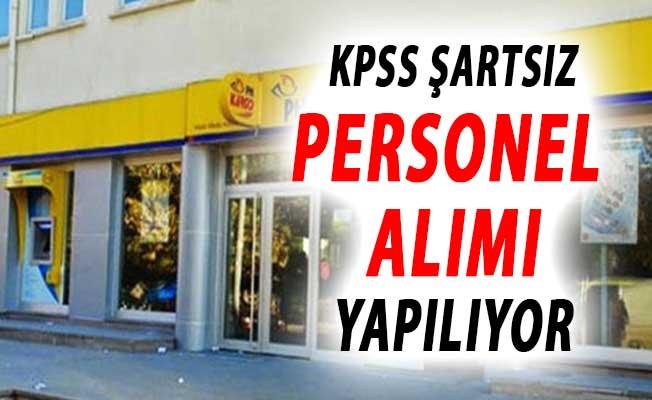PTT KPSS Şartsız Personel Alımı Yapıyor ! PTT'den Yeni İlan
