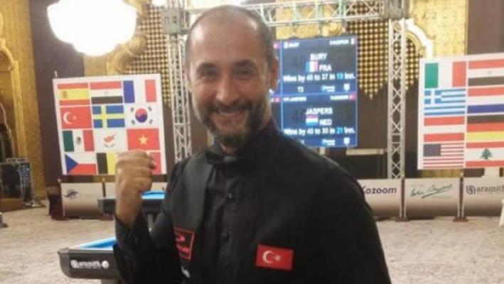 Semih Saygıner, Dünya Kupası'nda 3'üncü oldu