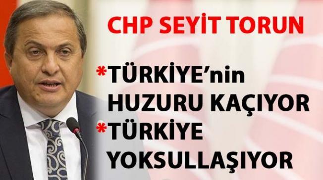 Seyit Torun: Türkiye, iktidarın ekonomi yönetiminin faturasını ödemekten bunaldı