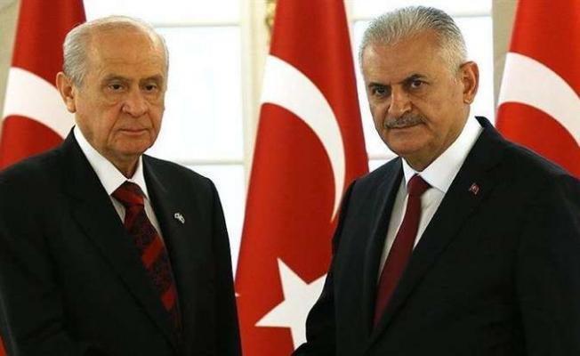 TBMM Başkanı Binali Yıldırım İle MHP Lideri Devlet Bahçeli Görüşecek