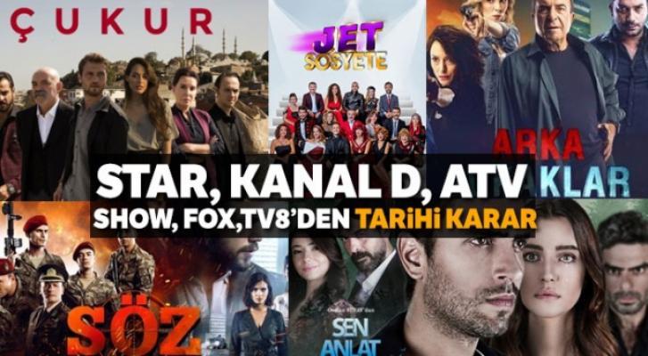 TRT hariç tüm kanallar Ocak ayının ortasına kadar yeni bölüm yayınlamayacak