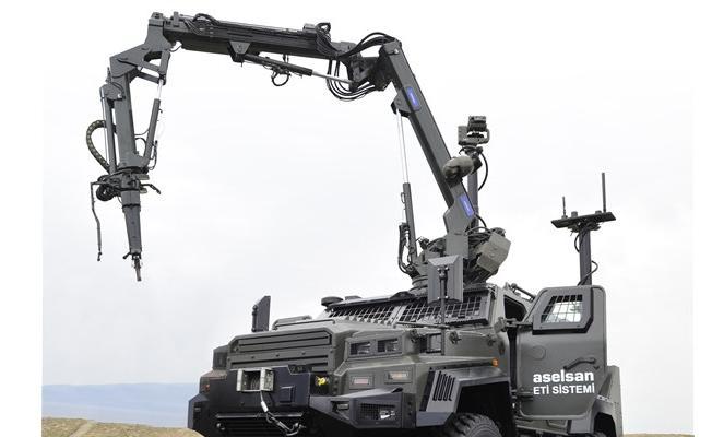TSK, insansız kara taşıtları kullanacak