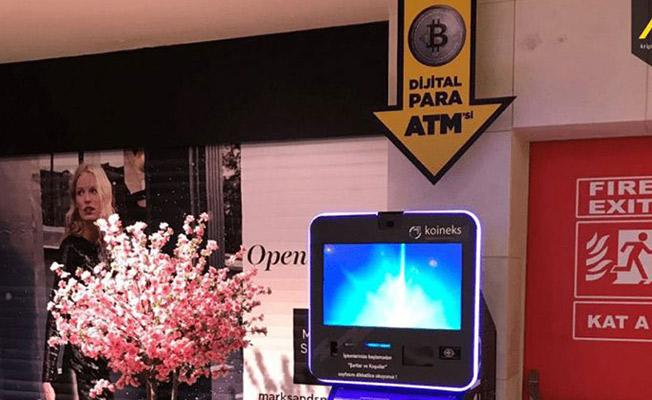 Türkiye'nin İlk Bitcoin ATMS'si Açıldı! Koineksten Bitcoin ATM'si