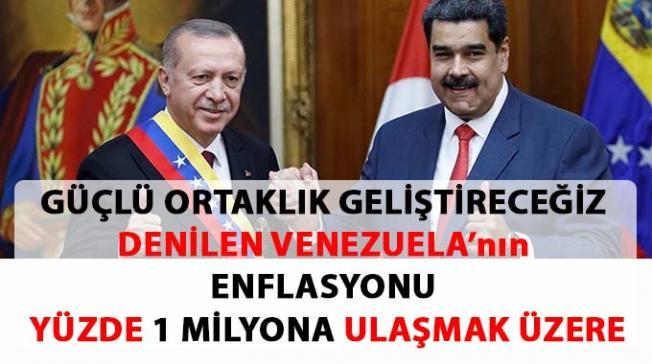 Türkiye Venezuela İlişkisi'nin perde arkası