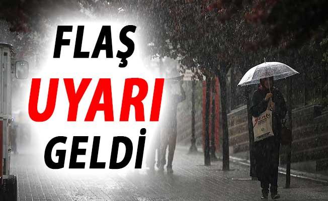 Türkiye'yi Etkisi Altına Alan Yağışlar Hakkında Meteoroloji'den Son Dakika Uyarısı