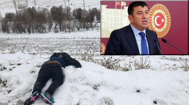 Veli Ağbaba, donarak ölen göçmenleri sordu