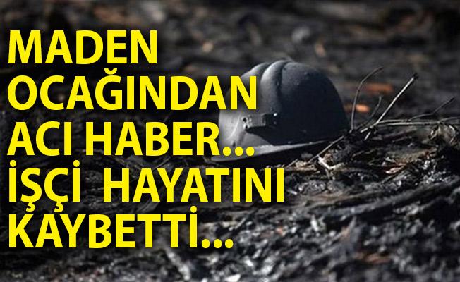 Zonguldak'ta Maden Ocağından Acı Haber! İşçi Hayatını Kaybetti