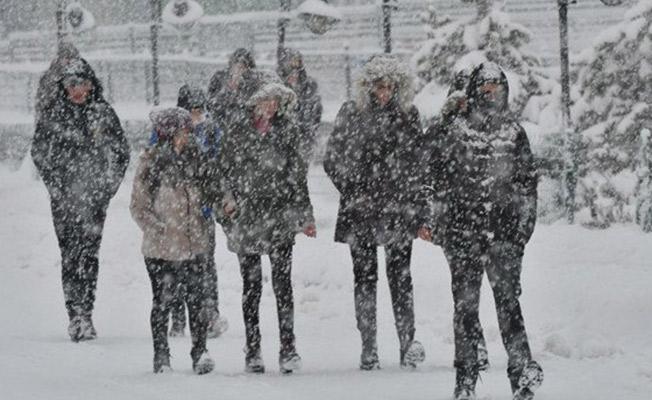 15 Ocak 2019 Kar Tatili! Bingöl'de Okullar Tatil Edildi
