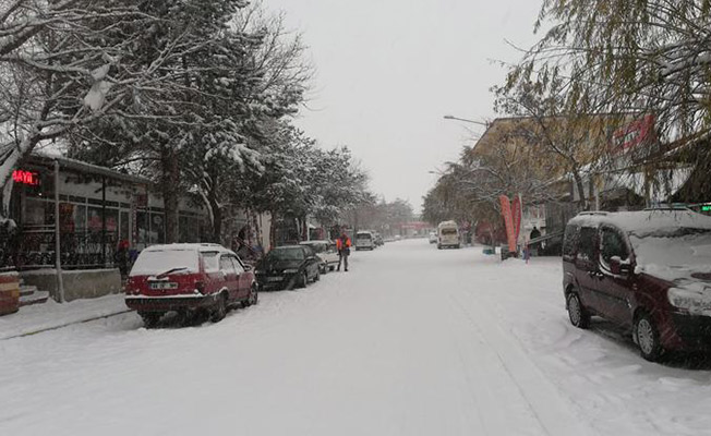 3 Ocak 2019 Malatya'da Kar Tatili! Malatya'da Okullar Tatil Edildi