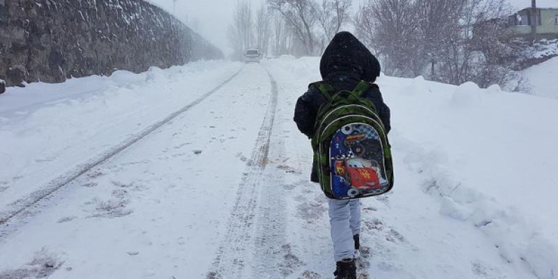 7 Ocak Pazartesi Okulların Tatil Edildiği İller Listesi