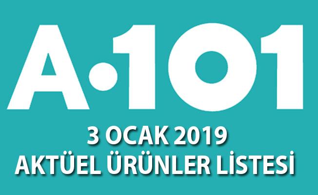 A101 Aktüel İndirimli Ürünler Kataloğu Yayınlandı! 3 Ocak 2019 Aktüel Ürünler listesi